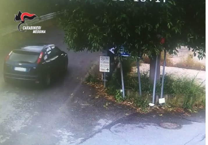 Autovettura utilizzata dai ladri 1
