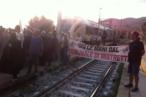 protesta ferrovia